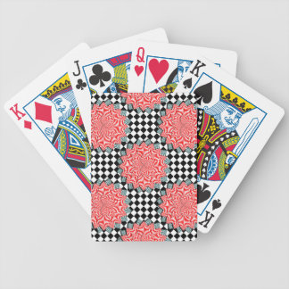 Digital Flower by Kenneth Yoncich Bicycle Playing Cards
