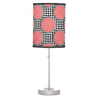 Digital Flower by Kenneth Yoncich Desk Lamp