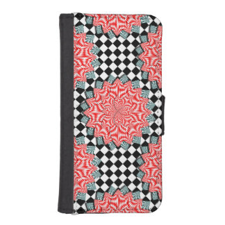 Digital Flower by Kenneth Yoncich iPhone SE/5/5s Wallet