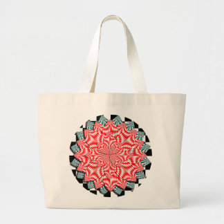 Digital Flower by Kenneth Yoncich Large Tote Bag