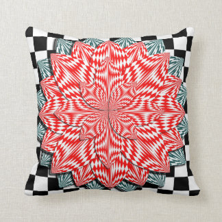 Digital Flower by Kenneth Yoncich Pillow
