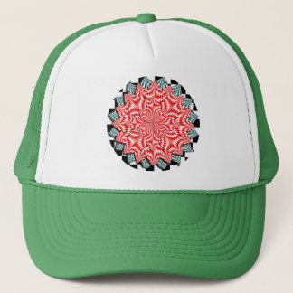 Digital Flower by Kenneth Yoncich Trucker Hat