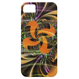 Digital Flower golbbrown created by Tutti iPhone SE/5/5s Case