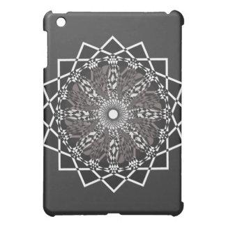 digital flower iPad mini cases