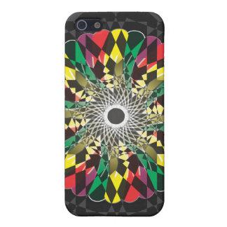 Digital flower - iPhone Case