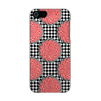 Digital Flower Metallic Phone Case For iPhone SE/5/5s
