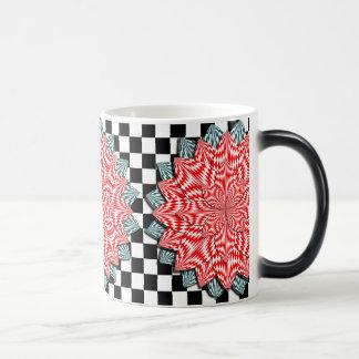 Digital Flower Morphing Mug