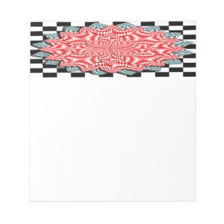 Digital Flower Notepad Banner