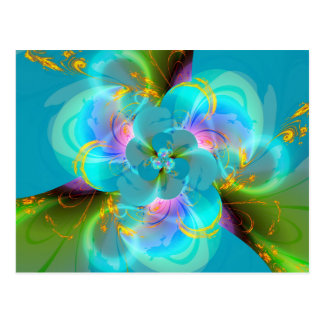 Digital Flower pastell  created by Tutti Postcard