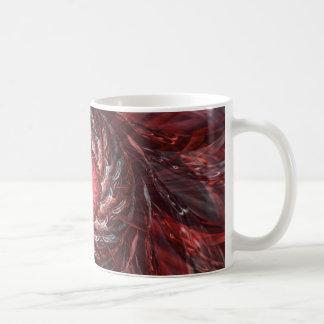 Digital Flower red Coffee Mug