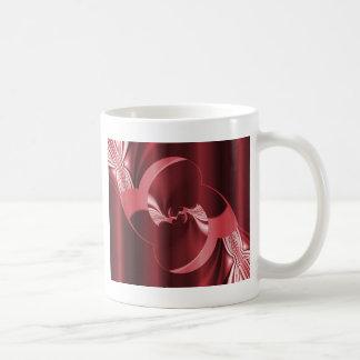 Digital Flower red created by Tutti Coffee Mug