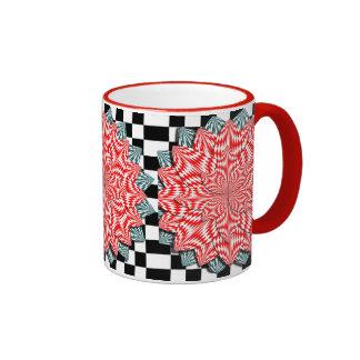 Digital Flower Ringer Mug