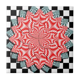 Digital Flower Tile