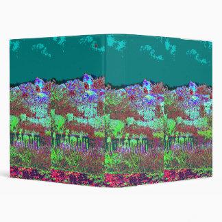 Digital Flowerbed 3 Ring Binder