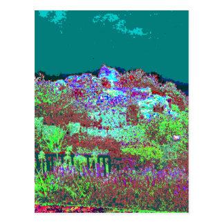 Digital Flowerbed Postcard