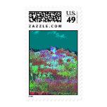 Digital Flowerbed Stamps