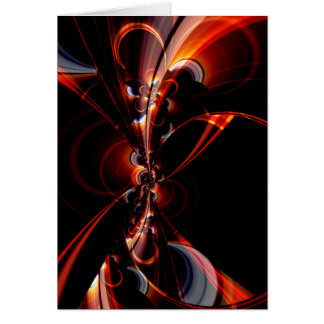 Digital Flowers dark red by Tutti Card