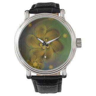 Digital Flowers desinged by Tutti Wristwatch