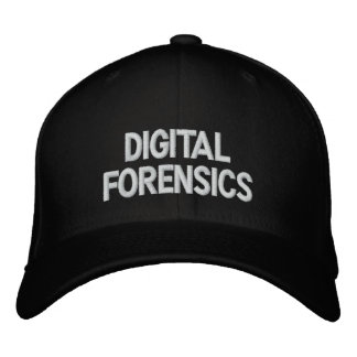 Digital Forensics Embroidered Hats