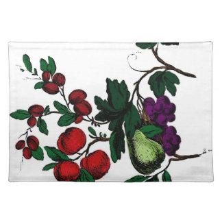 Digital Fruit Placemat Cloth Placemat