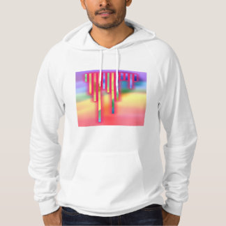 Digital,fun,happy,abstract,colorful,design,poly,mi Hoodie