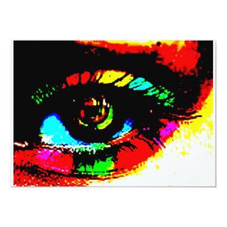 Digital Graffiti Eye Card