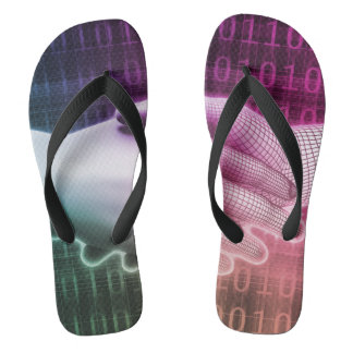 Digital Handshake Between Man and Machine Flip Flops