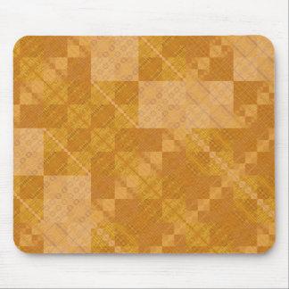 Digital Hardwood Mouse Pad