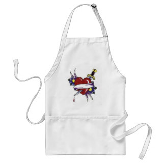 Digital Heart Collection Apron