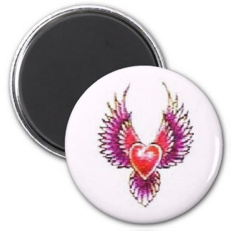 Digital Heart Collection Fridge Magnets