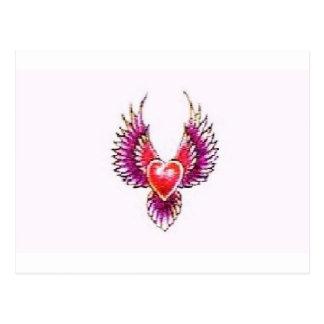Digital Heart Collection Postcard