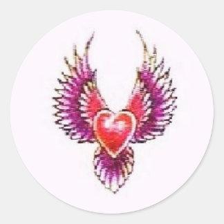 Digital Heart Collection Sticker