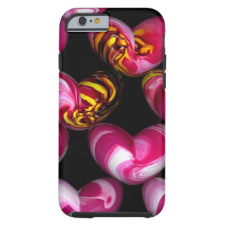 Digital Hearts iPhone Case Tough iPhone 6 Case