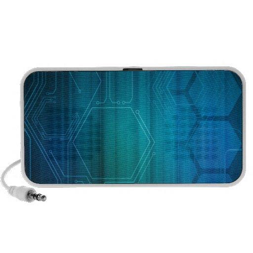 Digital Honeycomb Background Speaker