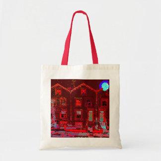 Digital Houses Tote Bag