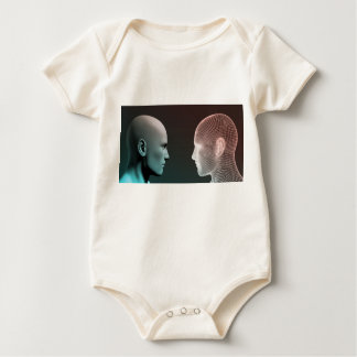 Digital Identity and Transfer of Knowledge Baby Bodysuit