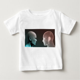Digital Identity and Transfer of Knowledge Baby T-Shirt