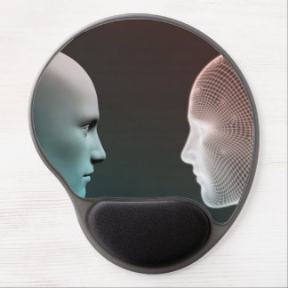 Digital Identity and Transfer of Knowledge Gel Mouse Pad