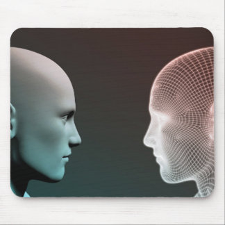 Digital Identity and Transfer of Knowledge Mouse Pad