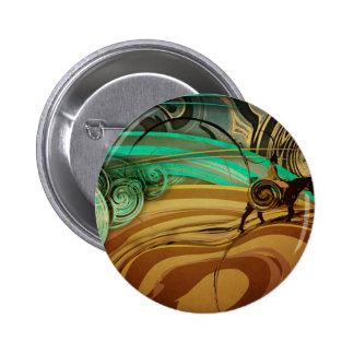 Digital Illustration 2 Inch Round Button