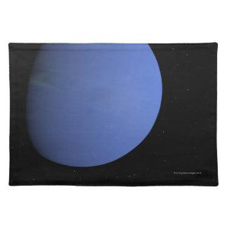 Digital Illustration of Neptune Placemat