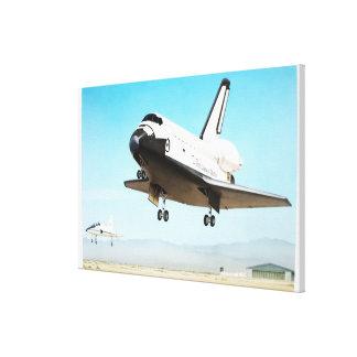 Digital illustration of Space Shuttle Canvas Print