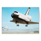 Digital illustration of Space Shuttle Card