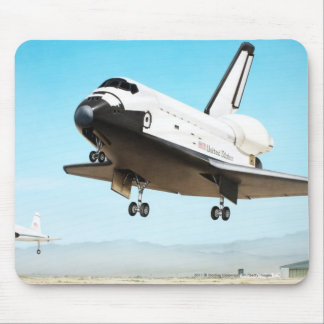 Digital illustration of Space Shuttle Mouse Pad