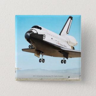 Digital illustration of Space Shuttle Pinback Button