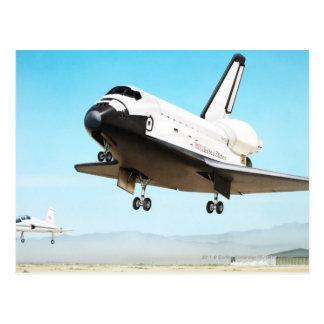 Digital illustration of Space Shuttle Postcard