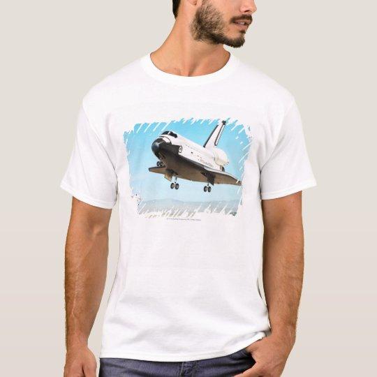 Digital illustration of Space Shuttle T-Shirt