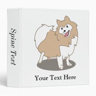 Digital Illustration - Pomeranian Dog Binders
