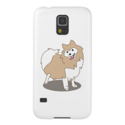 Digital Illustration - Pomeranian Dog Case For Galaxy S5
