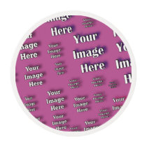 Digital Image Template Edible Frosting Rounds